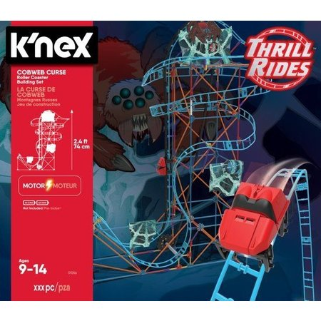 K`nex Achtbaan Cobweb Curse K`nex: 473 stuks