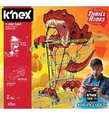 K`nex Achtbaan T-Rex Fury K`nex: 473 stuks