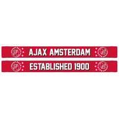 Sjaal ajax rood geblokt established 1900
