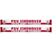 Sjaal psv wit/rood Eindhoven
