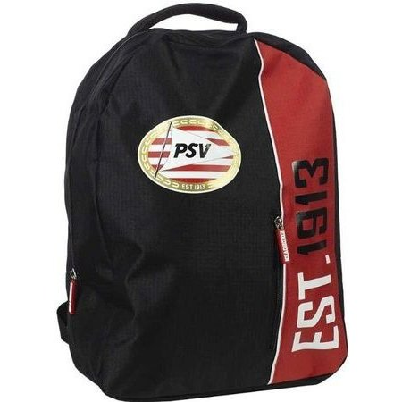 PSV Eindhoven Rugzak psv zwart/rood 42x31x14 cm