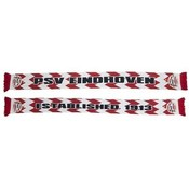 Sjaal psv rood/wit waves