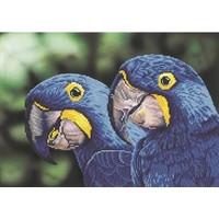 Blue Hyacinth Macaws Diamond Dotz 52x37 cm