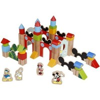 Blokken hout Mickey Mouse 60 stuks