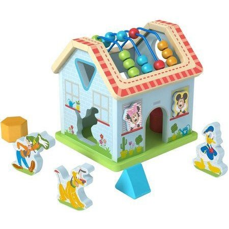 Mickey Mouse Activiteitenhuis hout Mickey Mouse 18+ mnd