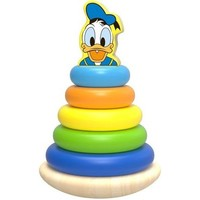 Tuimelring hout Donald Duck: 12+ mnd