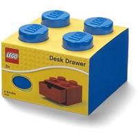 Opberglade Lego brick 4 blauw