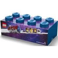 Opbergbox Lego Movie 2 brick 8 blauw