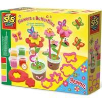 Klei SES: geurende bloemen en vlinders