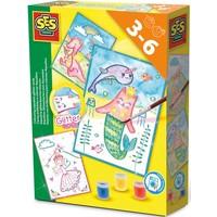Glitterkaarten Aqualine SES