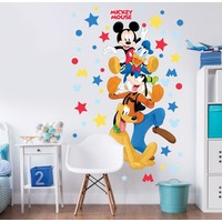 Muursticker Mickey Mouse Walltastic: 122 cm