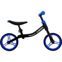 Loopfiets Go Bike Globber: zwart/blauw