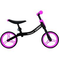 Loopfiets Go Bike Globber: zwart/roze