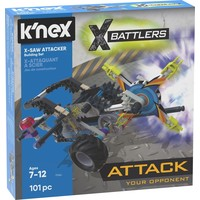 X-Saw Attacker K`nex: 101 stuks