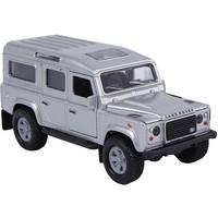 Auto Kids Globe Landrover grijs licht/geluid