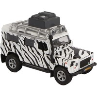 Auto Kids Globe Landrover safari licht/geluid