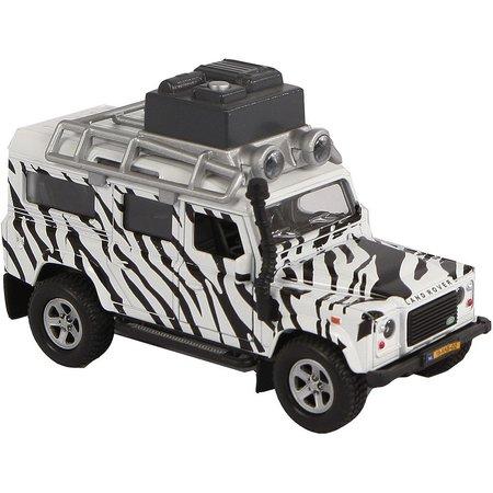 Kids Globe Auto Kids Globe Landrover safari licht/geluid
