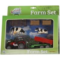 Tractor Kids Globe met aanhanger en accessoires
