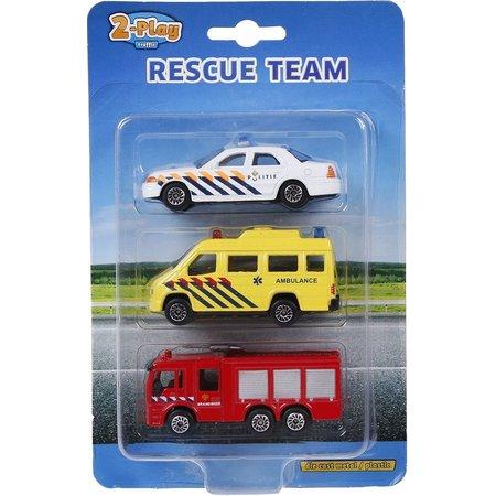 2-Play Auto 2-Play 112 voertuigen 3-pack