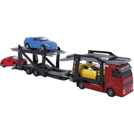 2-Play Auto 2-Play autotransporter inclusief 3 auto`s