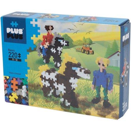 PlusPlus Mini Basic Plus-Plus Paarden en Ruiters: 220 stuks