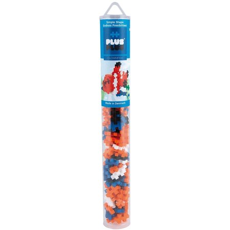 PlusPlus Mini Basic Plus-Plus Buis Clownvis: 100 stuks
