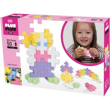PlusPlus BIG Pastel Plus-Plus: 50 stuks