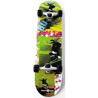 Skateboard Black Hole Move Eighties 79 cm/ABEC7