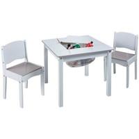 Tafel met stoeltjes wit