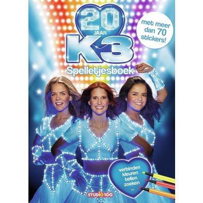 K3 Kleurplaten Spelletjes.Doeboek K3 20 Jaar