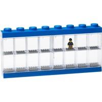 Opbergbox Lego minifigs blauw 16-delig