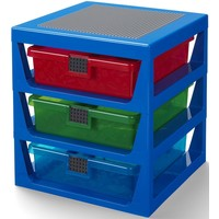 Opbergrek Lego 3 lades blauw