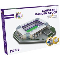 Puzzel Anderlecht: Vanden Stockstadion 117 stukjes