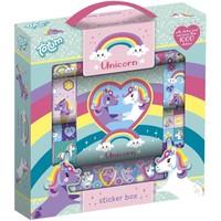 Sticker box eenhoorn ToTum: 1000+ stickers