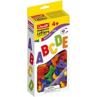 Magneetbord Quercetti: hoofdletters ABC 48-delig