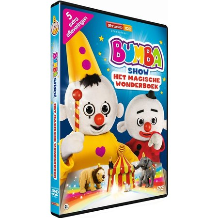 Bumba Bumba DVD - Het magische wonderboek