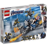 Captain America: Outriders Attack Lego