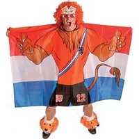 Vlag poncho holland leeuw