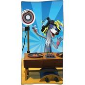 Badlaken Fabeltjeskrant DJ Wally: 70x140 cm