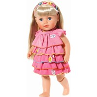 Zomerse jurk met leuke pins Baby Born