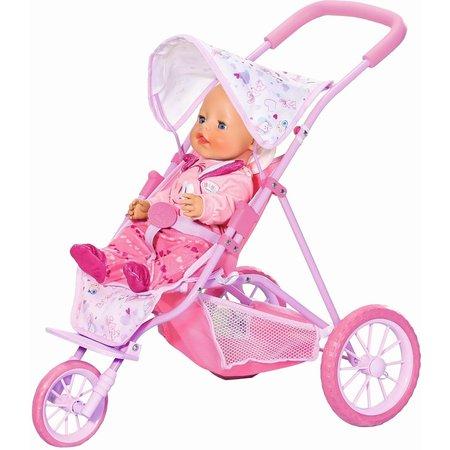 Baby Born Poppenwagen driewieler Baby Born
