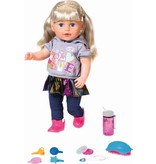 Baby Born Pop Soft Touch Sister Baby Born 43 cm: blond