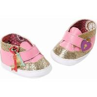 Schoenen Baby Annabell: goud/roze