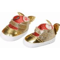 Schoenen Baby Annabell: goud/rood