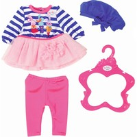 Fashion Collectie Baby Born: blauw/roze