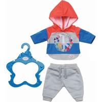 Joggingpak Trend Baby Born: blauw/rood