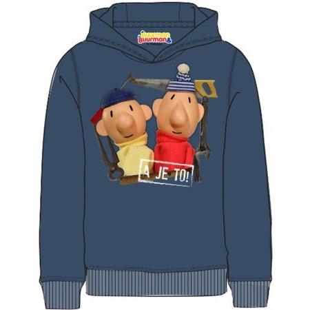 Buurman en Buurman Sweater Buurman en Buurman: blauw maat 110/116