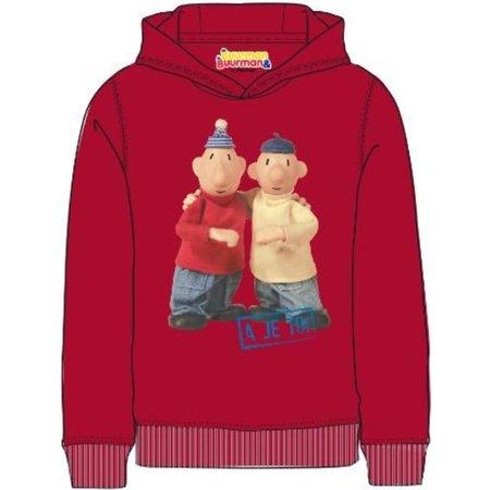 Buurman en Buurman Sweater Buurman en Buurman: rood maat 98/104