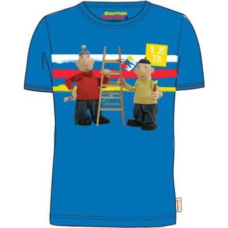 Buurman en Buurman T-shirt Buurman en Buurman: blauw maat 98/104