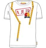 Buurman en Buurman T-shirt Buurman en Buurman: wit maat 110/116